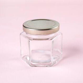 4 oz Hexagon Jar - 4 Jars
