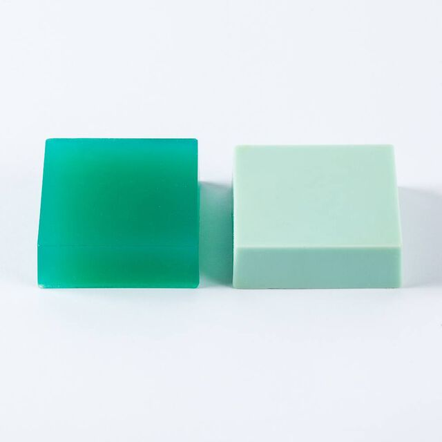 Hydrated Chrome Green Color Block - 1 Block