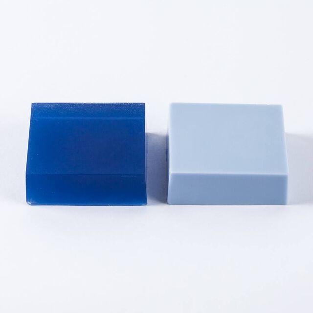 Blue Mix Lab Color