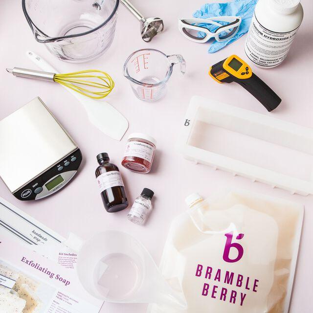 Exfoliating Handmade Soap Kit - Complete Kit