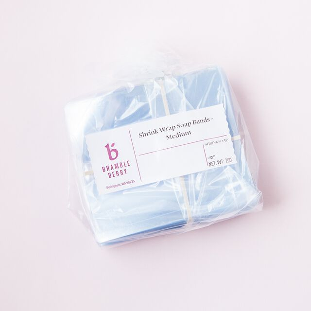 Shrink Wrap Soap Bands - Medium