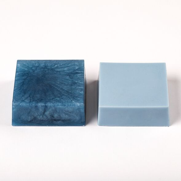 Stormy Blue Color Block - 1 Block