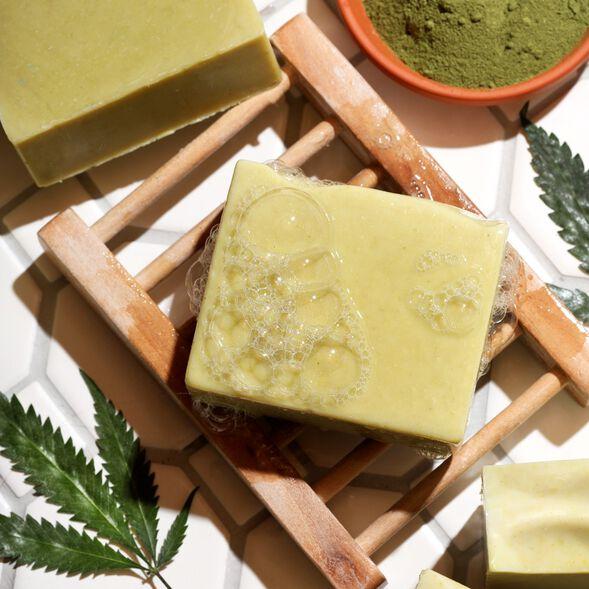 Hemp and Aloe Facial Soap Project