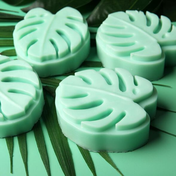 Monstera Leaf Lotion Bar Project