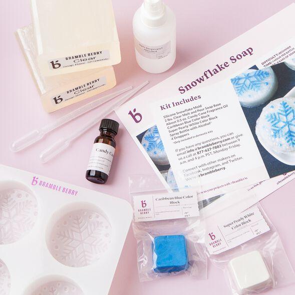 Snowflake Soap Kit