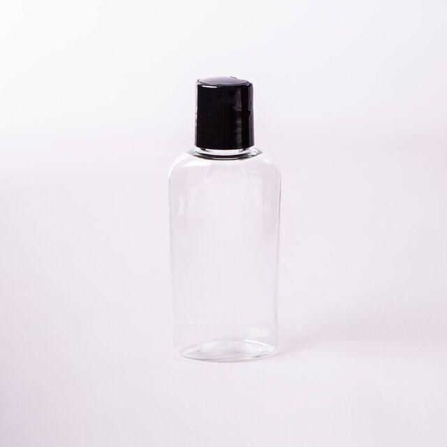 2 oz Bottle with Black Disc Cap