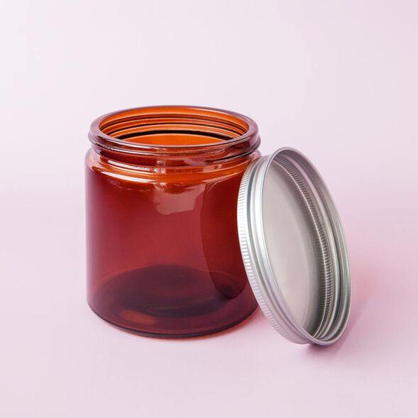 Amber 13 oz Glass Jar