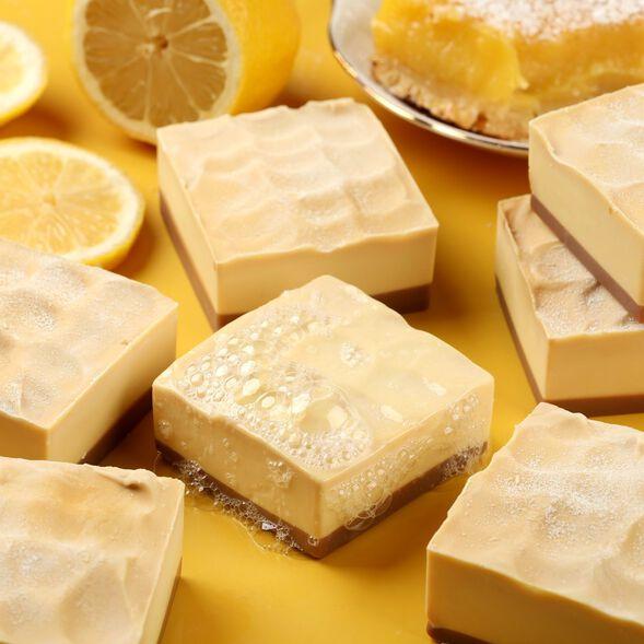 Lemon Bar Soap Project