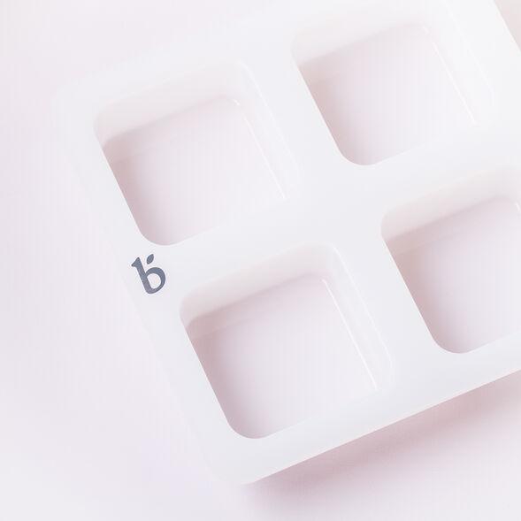 6 Cavity Silicone Square Mold
