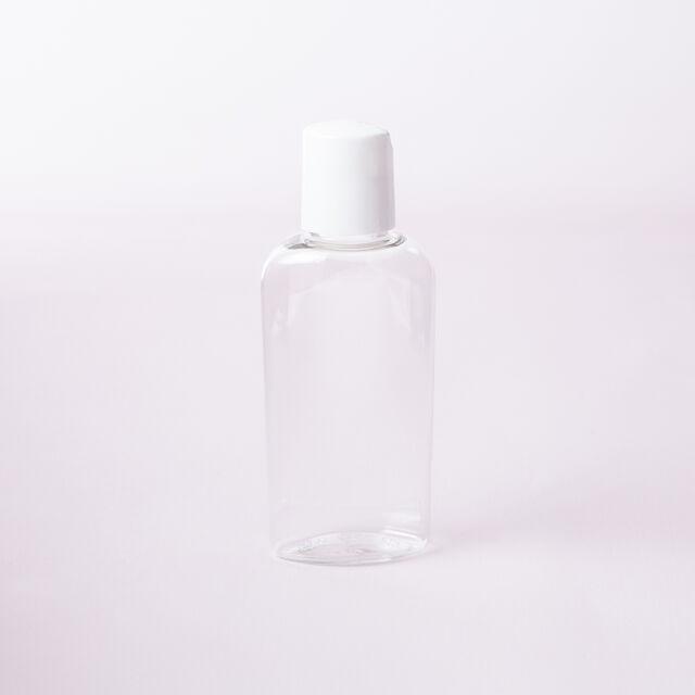 2 oz Bottle with White Disc Cap