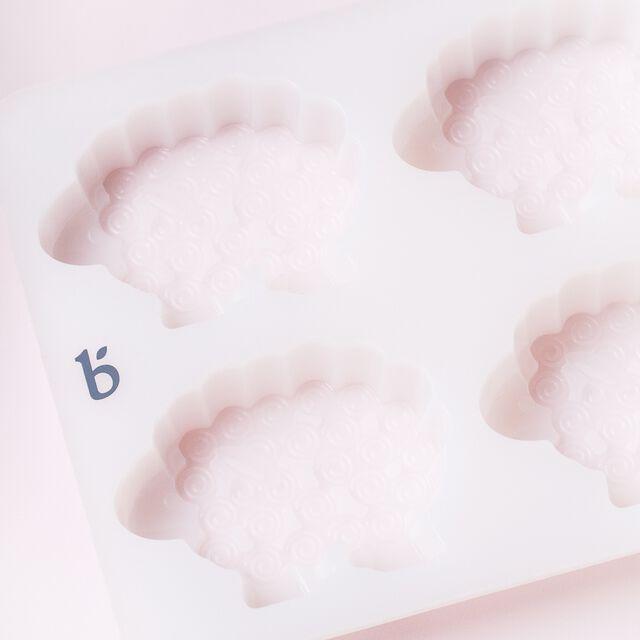 6 Cavity Sheep Silicone Mold