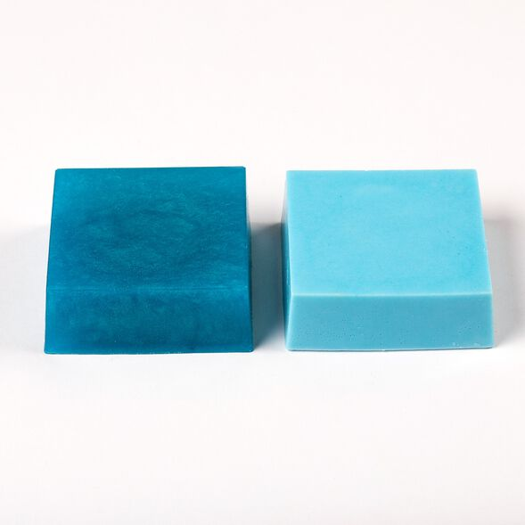 Mermaid Blue Color Block - 1 Block