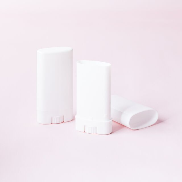 Mini Deodorant Tube - White