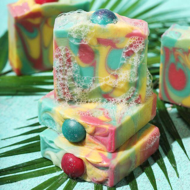 Bali Bubbles Soap Project