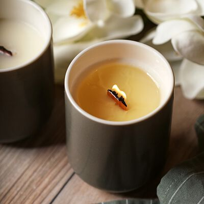 Magnolia and Tonka Candle Project