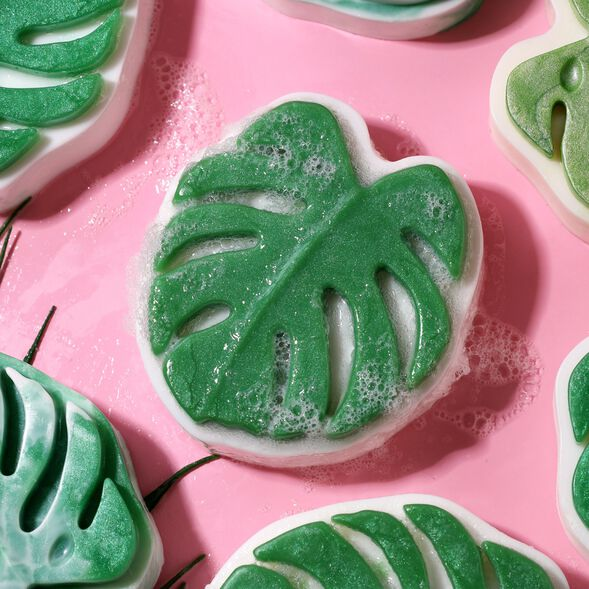 Monstera Leaf Soap Project
