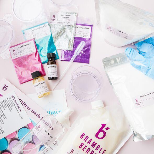 Glitter Bath Bomb Kit