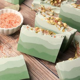 Eucalyptus and Cotton Soap Project