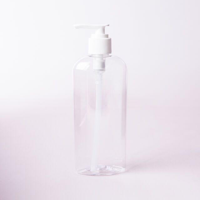 8 oz Bottle with Pump Cap