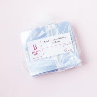 Shrink Wrap Soap Bands - Medium - 1 pack - 250