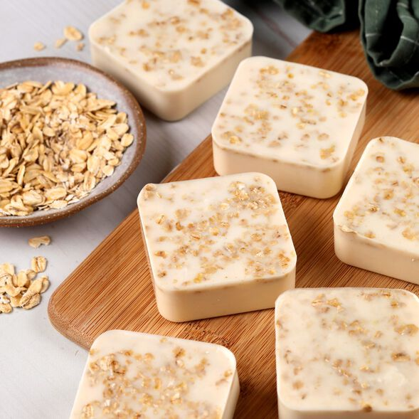 Gentle Oatmeal Soap Project