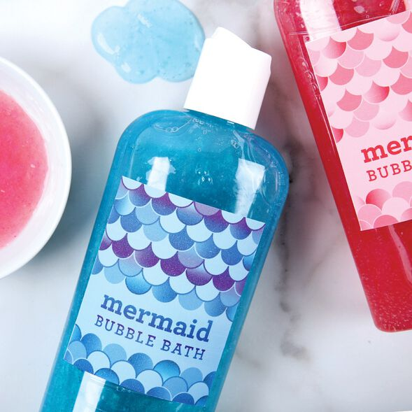 Mermaid Bubble Bath Kit