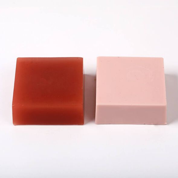 Rose Clay Color Block - 1 Block