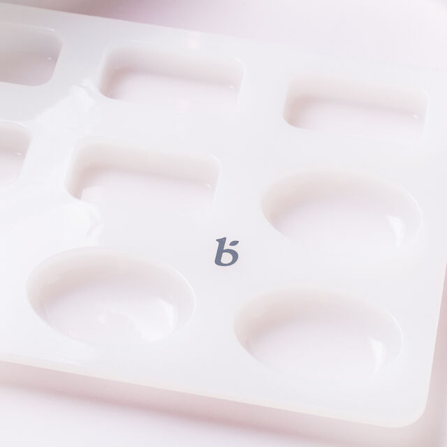 9 Cavity Silicone Guest Assorted Shapes Mold - 1 Mold