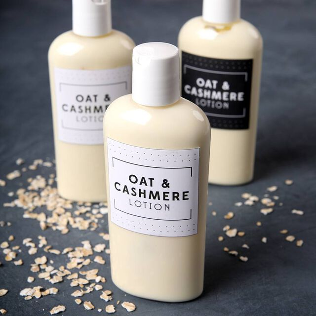 Oat and Cashmere Lotion Project
