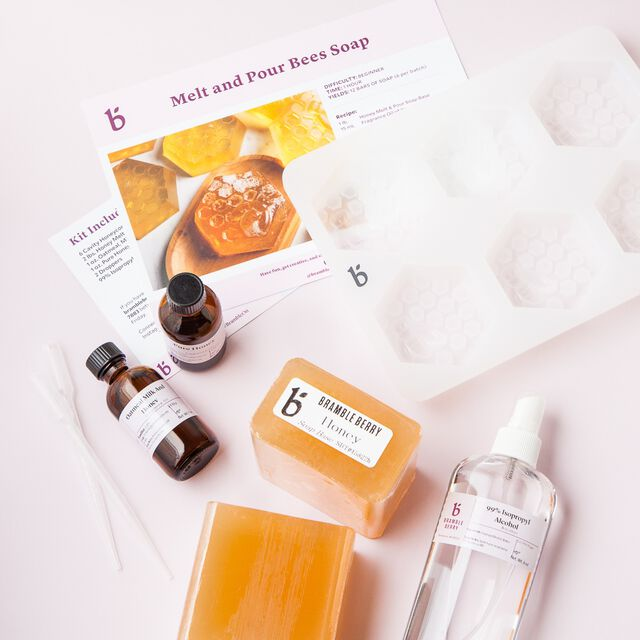 Bee Melt and Pour Soap Kit