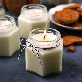 Gingerbread Candle Project