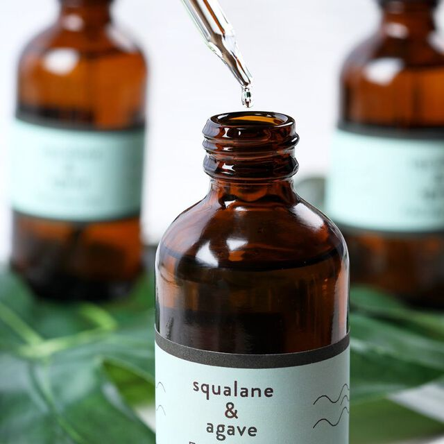 Squalane and Agave Facial Oil Project