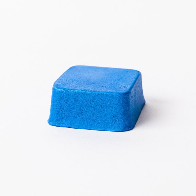 Caribbean Blue Color Block - 1 Block