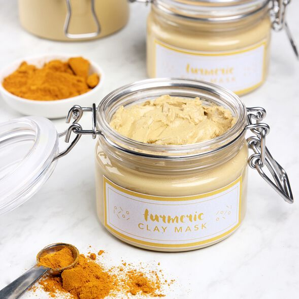 Turmeric Clay Face Mask Project