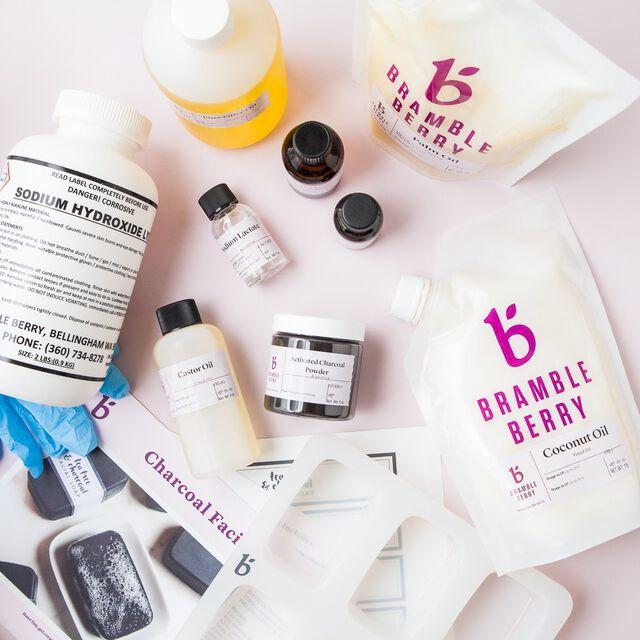 Charcoal Facial Soap Kit