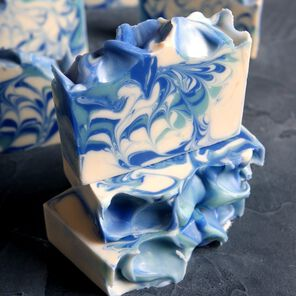 Alpine Swirl Cold Process Soap
