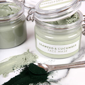 Seaweed and Cucumber Face Mask Project