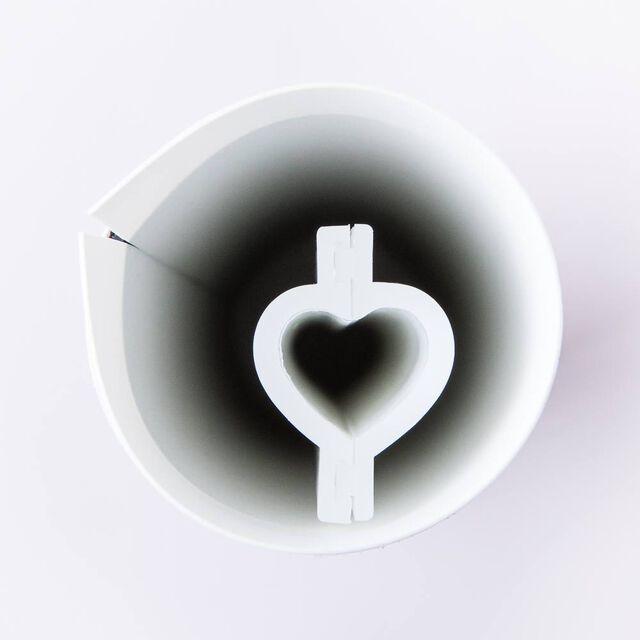 Mini Heart Silicone Column Mold