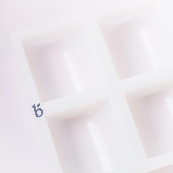 6 Half Cylinder Silicone Mold