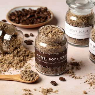 Coffee Scrub Kit - Domestic