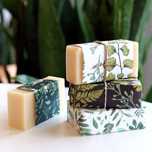Botanical Garden Soap Wrap