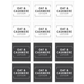 Oat & Cashmere Lotion Digital Label
