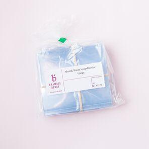 Shrink Wrap Soap Bands - Large - 1 pack - 250