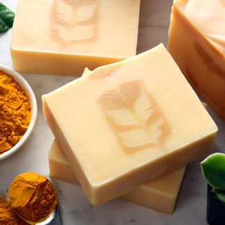 Turmeric Secret Swirl Soap Project