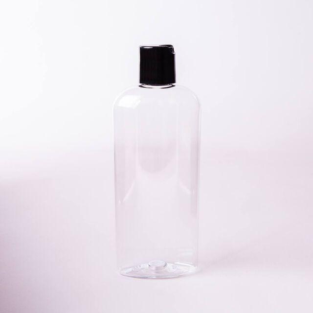 8 oz Bottle with Black Disc Cap