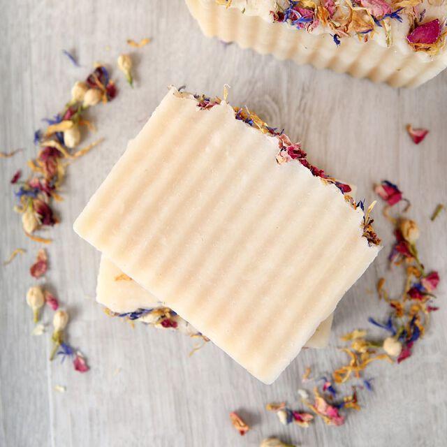 Wildflower Rebatch Soap Project