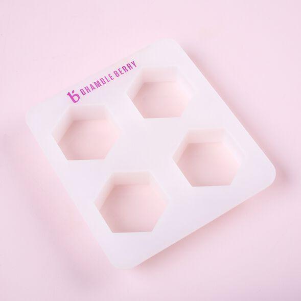 4 Cavity Hexagon Mold - 1 Mold