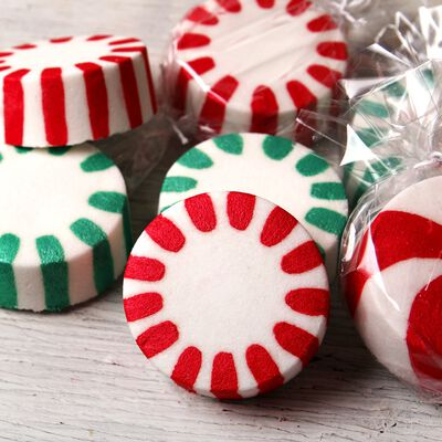 Peppermint Candy Bath Bomb Project