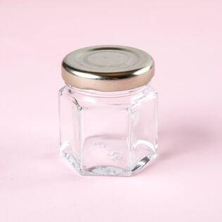 1.5 oz Hexagon Jar - 4 Jars