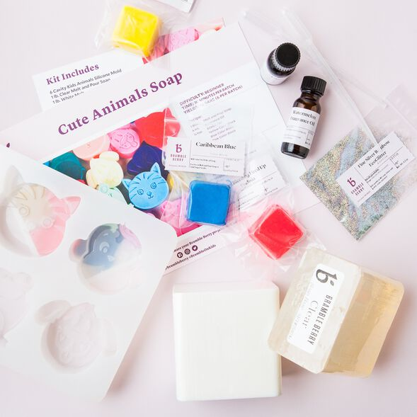 Cute Animals Soap Kit - Domestic